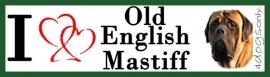 I LOVE Old English Mastiff OP=OP