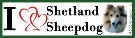 I LOVE Shetland Sheepdog / Shelti Sable OP=OP