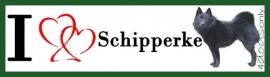 I Love Schipperke Stand OP=OP