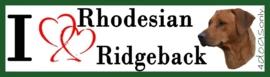 I LOVE Rhodasian Ridgeback 2 OP=OP