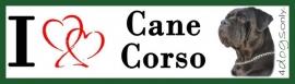 I LOVE Cane Corso Zwart OP=OP