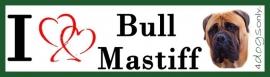 I LOVE Bull Mastiff Fawn OP=OP