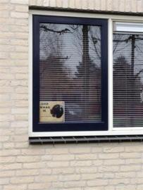 Waakbord Cane Corso zwart (03) (Nederlands). (UITVERKOCHT)
