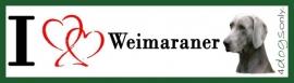 I LOVE Weimaraner OP=OP
