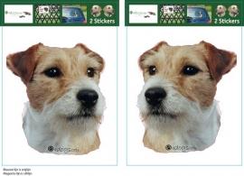 Parson Russell Terrier setje 2 stuks OP=OP