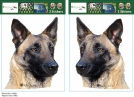 Belgian Shepherd Dog Malinois / Mechelse Herder setje 2 stuks OP=OP