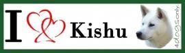 I LOVE Kishu UITVERKOCHT