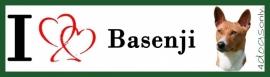 I LOVE Basenji OP=OP