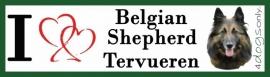 I LOVE Belgian Shepherd Tervueren UITVERKOCHT