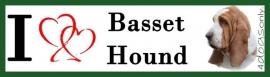 I LOVE Basset Hound UITVERKOCHT