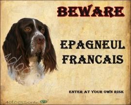 Waakbord Epaugnal Francais (Engels)  OP=OP