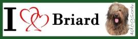 I LOVE Briard Fauve OP=OP
