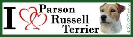 I Love Parson Russell Terrier UITVERKOCHT