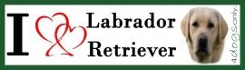 I LOVE Labrador Blond UITVERKOCHT