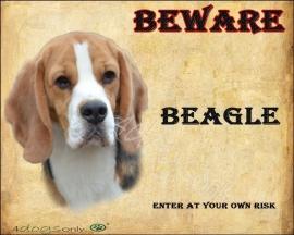 Waakbord Beagle (Engels). OP=OP
