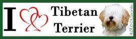 I LOVE Tibetaanse Terrier OP=OP