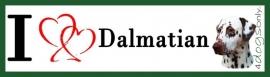 I LOVE Dalmatier Bruin OP=OP