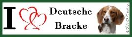 I LOVE Duitse Brake / Deutsche Bracke OP=OP