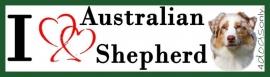I LOVE Australian Shepherd Red Merle OP=OP