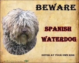 Waakbord Spanish Water Dog (Engels) UITVERKOCHT