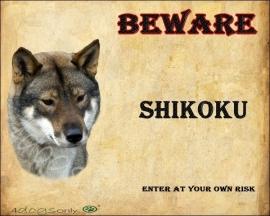 Waakbord Shikoku (Engels)UITVERKOCHT