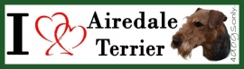 I LOVE Airedale Terrier OP=OP