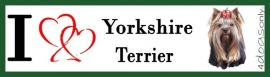 I LOVE yorkshire terrier OP=OP