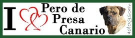 I LOVE Perro de Presa Canario / Dogo Canario OP=OP