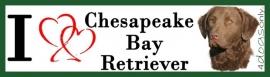 I LOVE Chesapeake Bay Retriever UITVERKOCHT