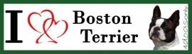 I LOVE Boston Terrier OP=OP