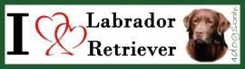 I LOVE Labrador Bruin OP=OP