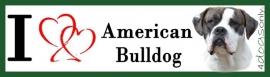 I LOVE american bulldog gestroomd OP=OP