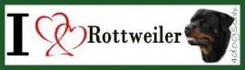 I LOVE Rottweiler UITVERKOCHT