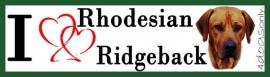 I LOVE Rhodesain Ridgeback OP=OP