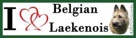 I LOVE Belgian Laekenoise OP=OP