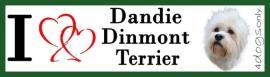 I LOVE Dandie Dinmond Terrier OP=OP