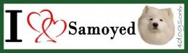 I LOVE Samojeed / Samoyed OP=OP