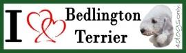 I LOVE Bedlington Terrier OP=OP