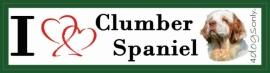 I LOVE Clumber Spaniel NIEUW OP=OP