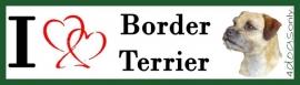 I LOVE Border Terrier OP=OP