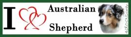 I LOVE Australian Shepherd Blue Merle OP=OP