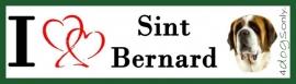 I Love Sint Bernard UITVERKOCHT