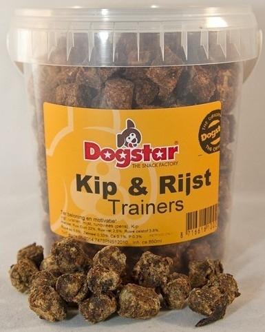 Potje 400 gram Kip & Rijst trainers