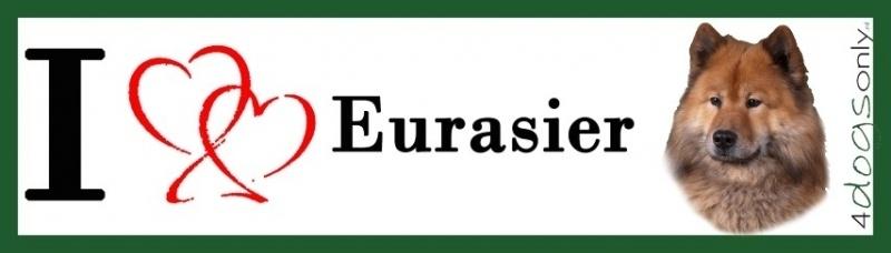 I LOVE Eurasier UITVERKOCHT