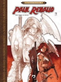 Red Sonja 7, Paul Renaud in beeld (Artbook)