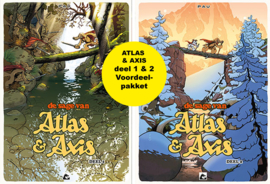 Atlas & Axis deel  1 + 2 voordeelpakket