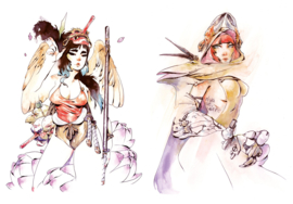 Ominikey Artbook: Chuma Hill UITVERKOCHT