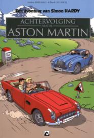 SImon Hardy 4, Achtervolging van de Aston Martin