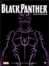 Black Panther 4 (van 4)  Volk in opstand