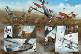 Vliegende Azen 1 HC, Duel tussen dwarskoppen